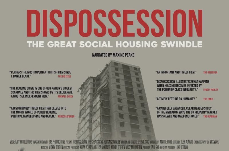 Depot to screen Dispossession: The Great Social Housing Swindle with director Q & A