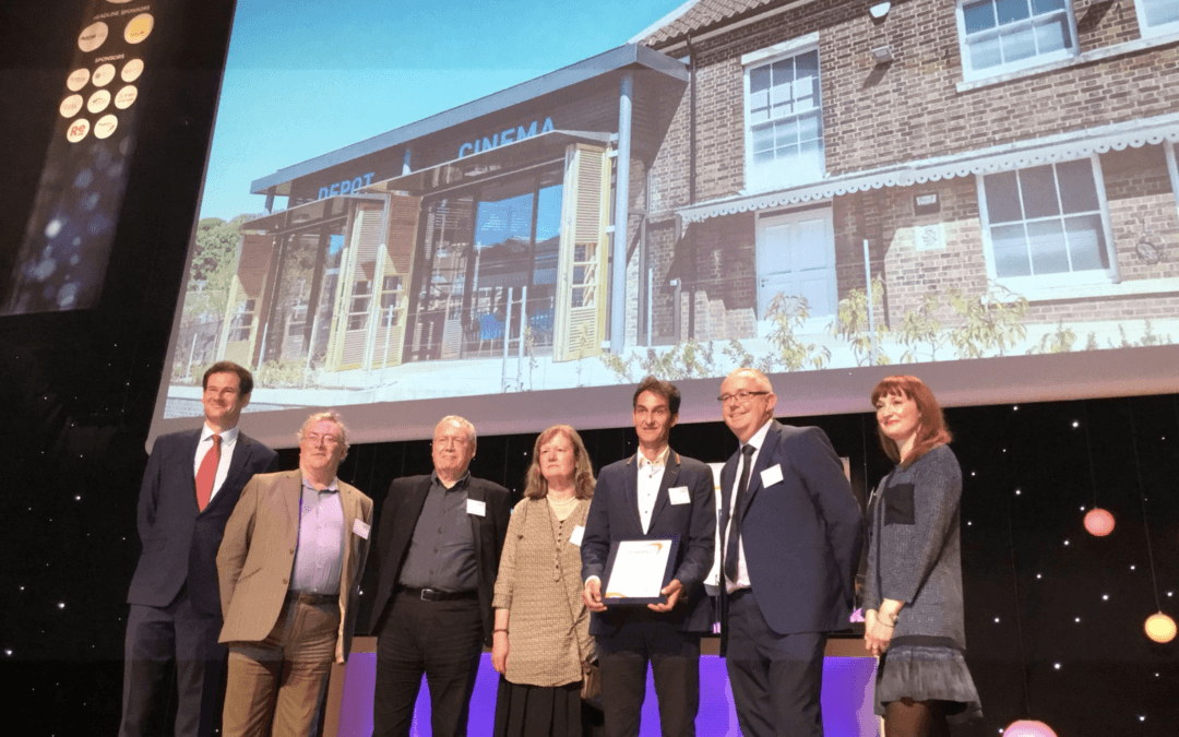 Depot wins national planning awards commendation