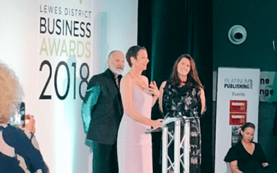 Depot wins double at Lewes District Business Awards