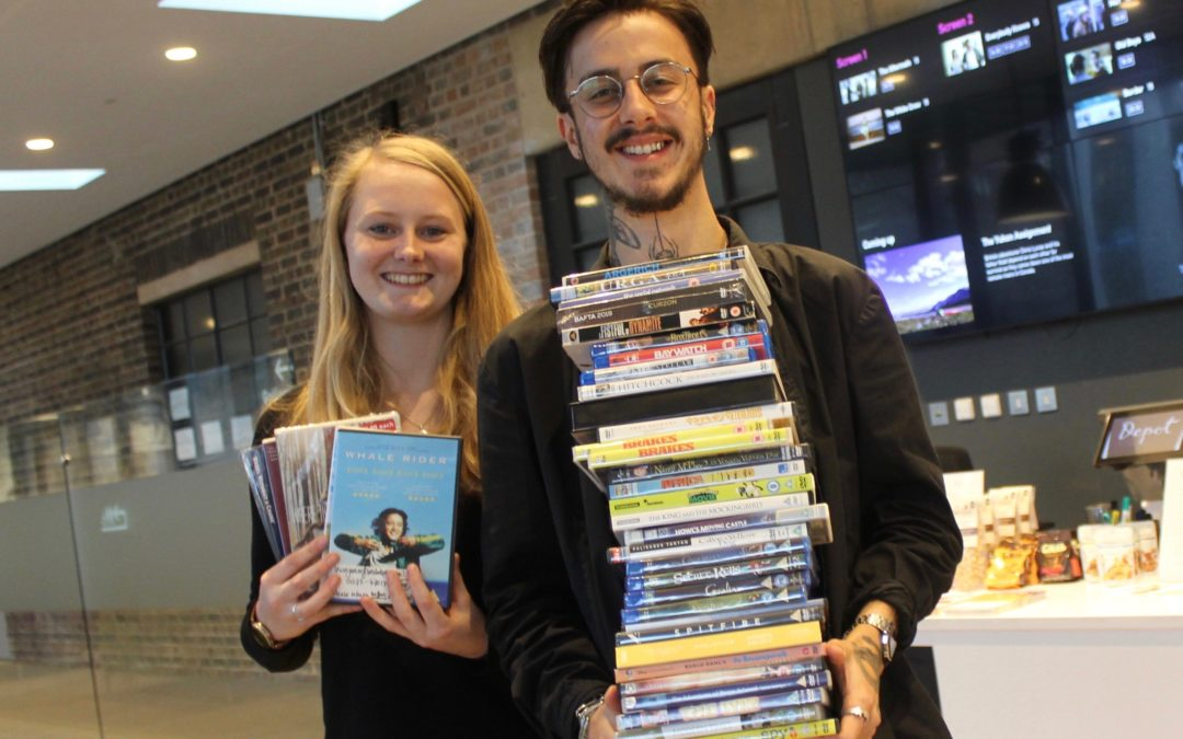 Big DVD exchange in support of Lewes Food Banks