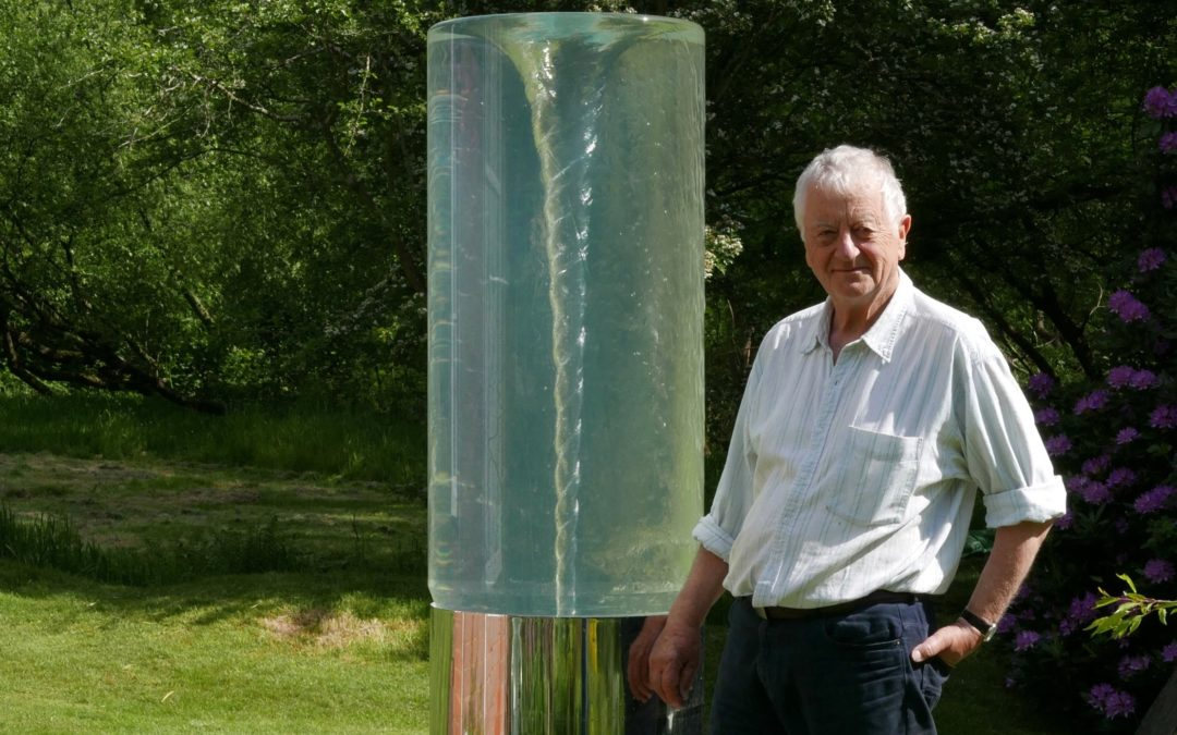 Sculptor William Pye in conversation at Depot