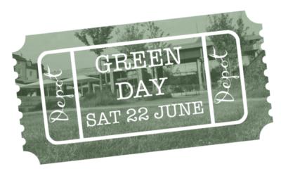 Depot's environmental ethos explored: Green Day