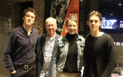 Actors George MacKay and Earl Cave visit Depot