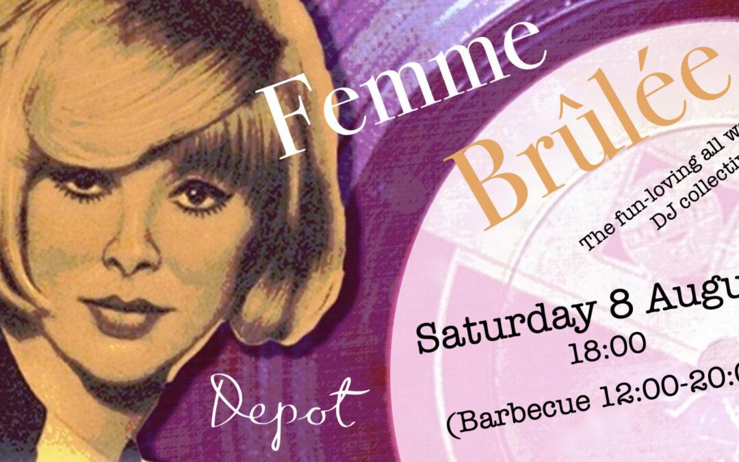 All women's DJ collective Femme Brûlée at Depot