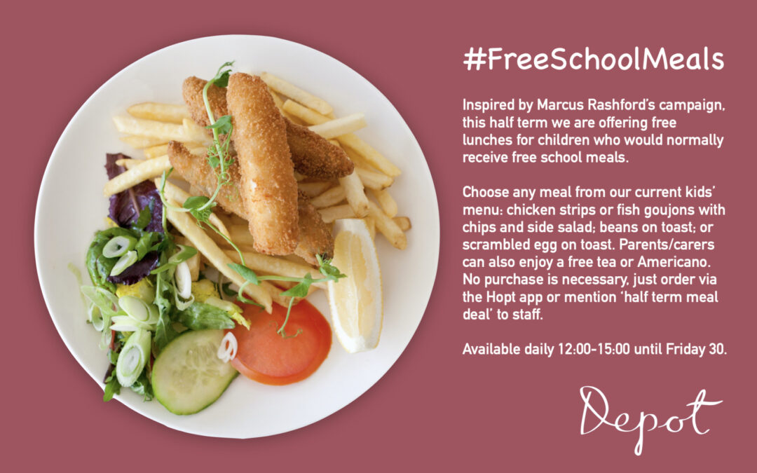 Free meals for school children this half term