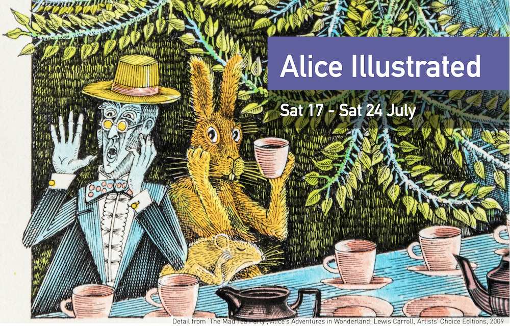 Alice Illustrated exhibition: call for entries