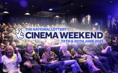 NationalLotteryCinema Weekend is back for 2021!