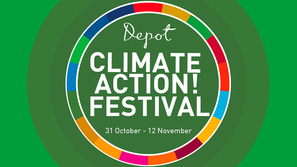 Depot to hold festival on positive climate action